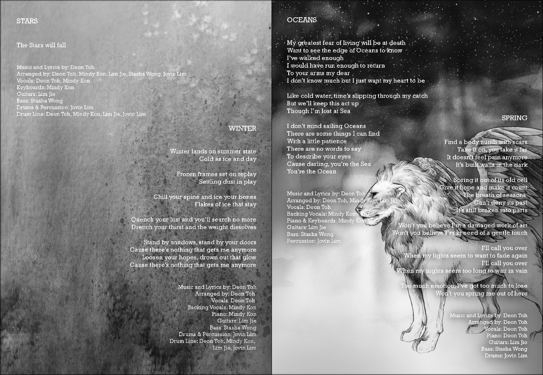 Blog below are images of the cover illustration and some snippets of the album pages lyrics are by deon ccuart Image collections